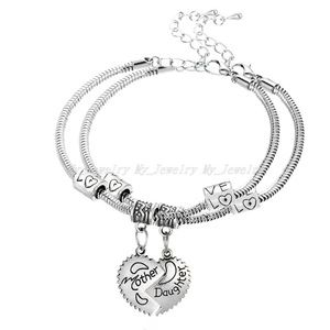 New mother and daughter matching bracelet set
